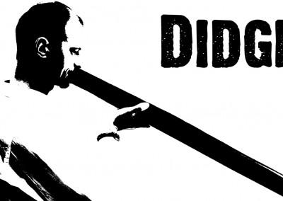 Huisstijl Didgeridooschool Bastiaan Baaij